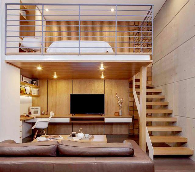 menuiserie comment cr er une mezzanine dans la maison tel menuisiers. Black Bedroom Furniture Sets. Home Design Ideas